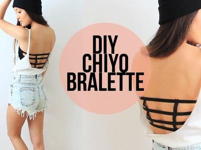 DIY: Brandy Melville Inspired Chiyo Bralette