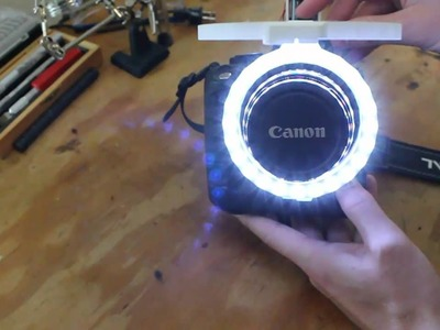 DIY Canon Ring Light