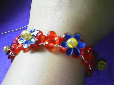 DIY,cara membuat gelang sederhana dari manik-manik-how to make a simple bracelet of beads