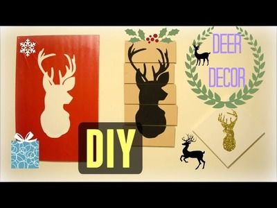 ✂ DIY: Deer Wall Decor