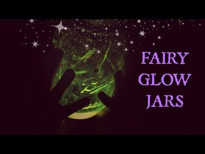 DIY Fairy Glow Jar {Fall Room Decor Idea}