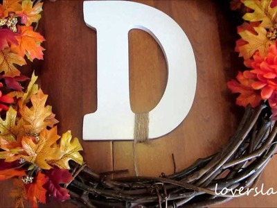 DIY Fall Wreath [loverslane29]