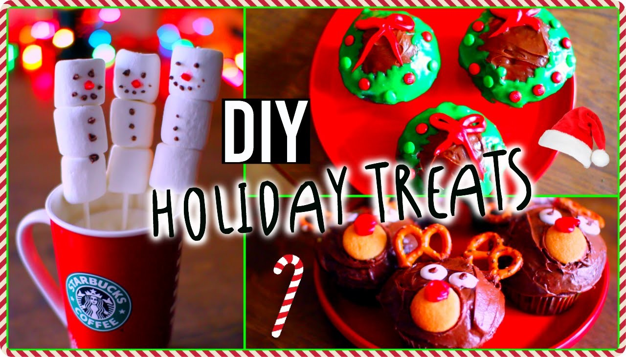 DIY Holiday treats