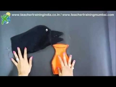 DIY - How to make a Glove Puppet