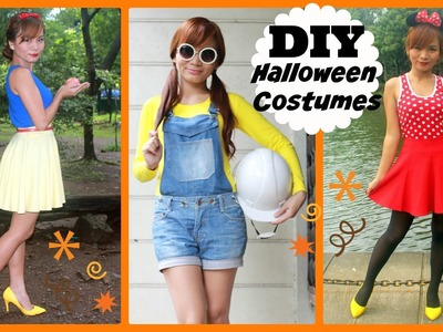 ✿ DIY (Last Minute!) Halloween Costumes ✿