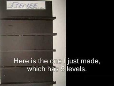 DIY: Nail Polish Display Rack & Organization. Storage