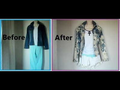DIY! Thrift Store Clothing Makeover