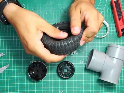 DIY Tutorial - mod llanta chapa RC4WD