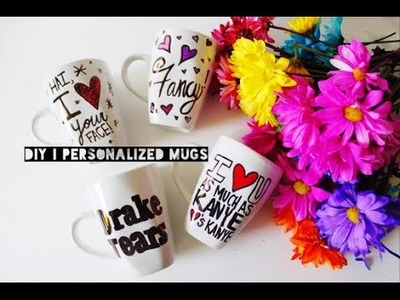 DIY| (Valentine's Day) Personalized Coffee Mugs