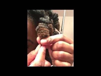 Drawstring Curls - A Rodless Crochet Curl Technique