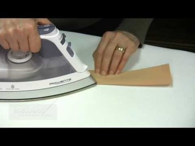 Forming the Fold Line on the Waistband (Free Sample)