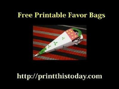 Free Paper Craft Printables