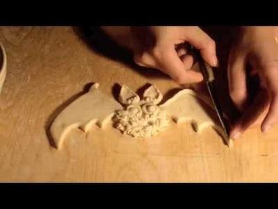 Halloween Bat Play Dough Tutorial