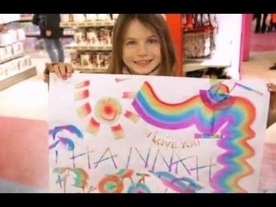 Hamleys - Rainbow Art and Stencils!