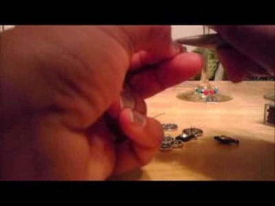 Home & Garden Wine Glass Charms Tutorial Christmas 2011.wmv