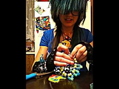 How to attach perler beads tew Xbase.  plus how tew make a spike 3D?? :o