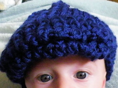 How To Loom Knit a Flat Cap