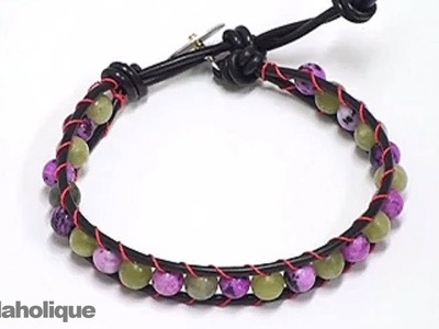 How to Make a Chan Luu Style Wrapped Bracelet
