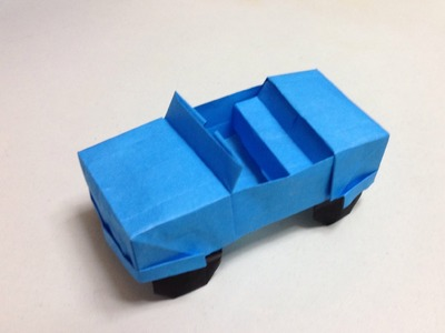 How to Make a origami jeep.car