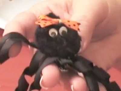 How To Make A Spider Hair Clip