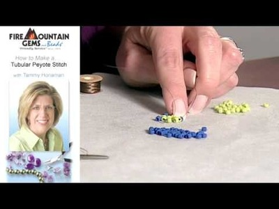 How to Make a Tubular Peyote Stitch