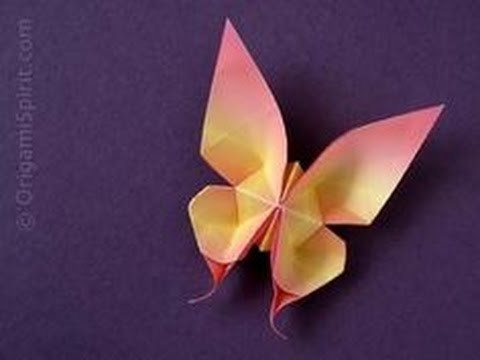 How to Make an Origami Paper Butterfly   The Art of Paper Folding