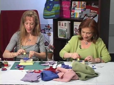 How to Make Felted Flowers