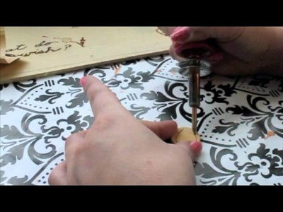 How To Make Woodburned Tree Rings