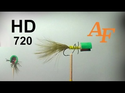 How to tie Cup Head Popper  Fly Tying Fly Fishing Andysfishing EP.111