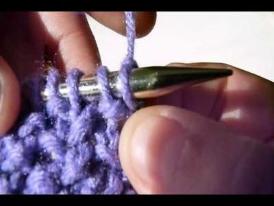 Knitting: Seed Stitch or Moss Stitch