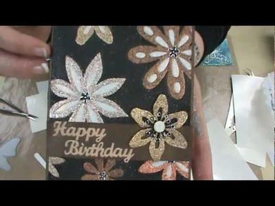 NEW Elizabeth Crafts Silk Glitter & Velvet Sheets by Scrapbooking Made Simple
