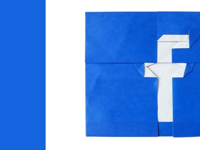 Origami Facebook Logo :: Tutorial