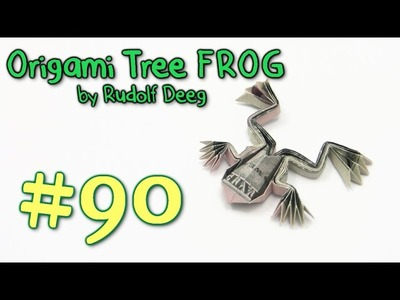 Origami Frog Money by Rudolf Deeg - Yakomoga dollar Origami tutorial