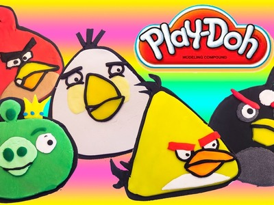 PLAY DOH ANGRY BIRDS Make Play Dough Angry Birds пластилін Ядосани птици Angry Birds Crafts Toys