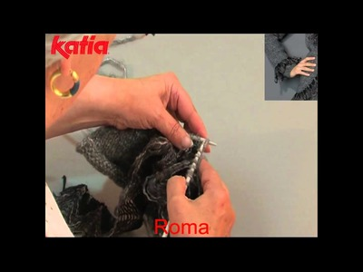 Roma (Applique by knitting.Aplicación a media)
