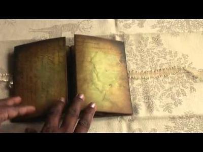 Scrapbook: Beautiful Double Tri-Shutter Mini Album