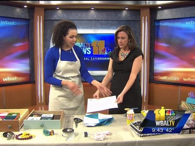 Serena Shows Cute Drawer Organizer on WBAL TV!