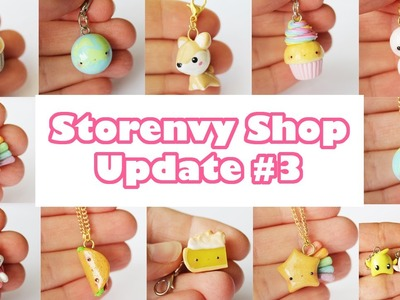 Shop Update #3 (Polymer Clay Charms)