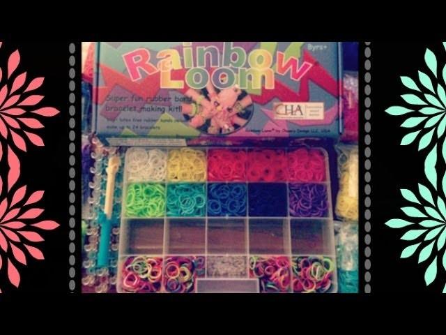 Updates! & I got a Rainbow Loom! :)