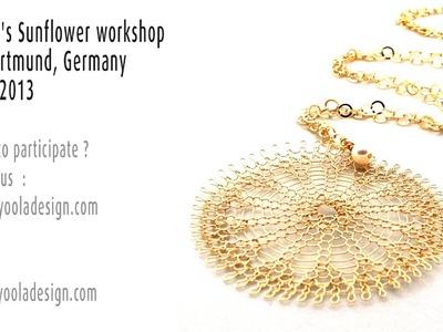 Wire crochet Workshop in Dortmund