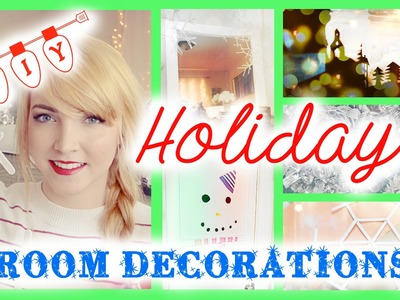 3 Holiday DIY Projects! | Room Decorations