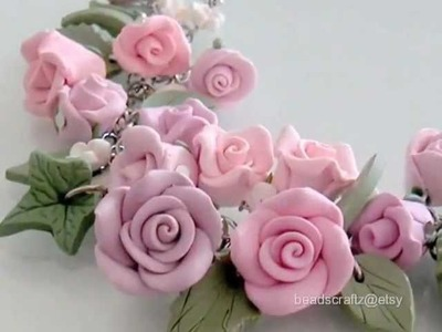 Artisan Polymer Clay Jewelry on Etsy