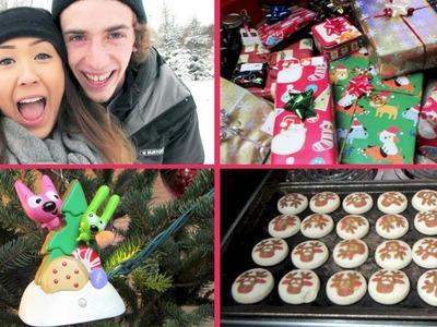 Christmas Vlog: Tree Hunting, Decorating & More!