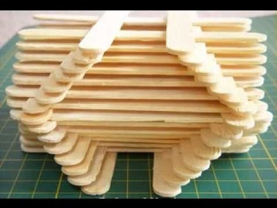 Craft ideas with popsicle sticks