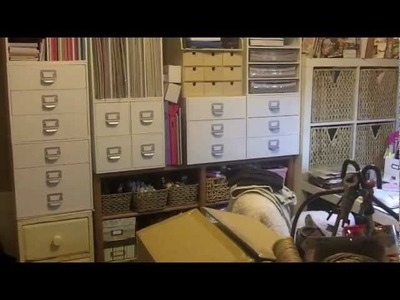 """Craft Room Tour"" (My Old Space)"