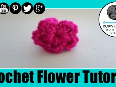 Crochet Flower Tutorial - Whip it up Wednesday !