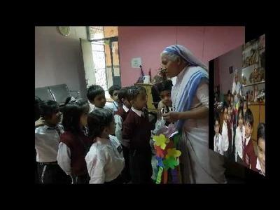 DIWALI CRAFT BY CLASS K.G ROSARY SCHOOL DELHI