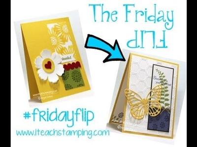 Friday Flip:  Making a Sympathy Card (Paper Craft Ideas)