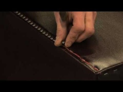 Hand Studding by Saxon Leather