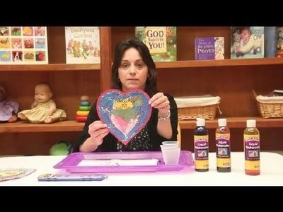 Heart Doily Craft for Preschoolers : Preschool Crafts & Activities